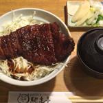 37172658 - 名古屋名物味噌カツ丼 800円  (2015.4月)