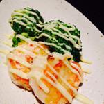 鉄板Diner JAKEN - 本日の海鮮鉄板焼
