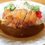 カレーとスパゲッテ 山ぼうし - 料理写真:トンカツチャーハン(税込800円)