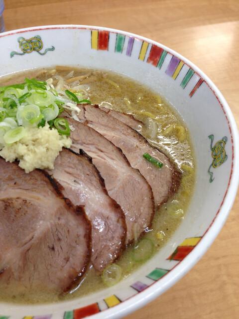 麺屋 彩未 - 味噌ラーメン チャーシュー大盛