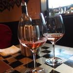 Nagaa - ロゼのワインをいただきました