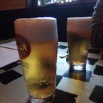 Nagaa - まずはビールで乾杯