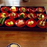 柚子屋旅館 - 15種盛りの八寸