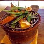 柚子屋旅館 - 筍の炭火焼