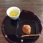 柚子屋旅館 - 柔らかな黒糖わらび餅