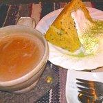 くるみの樹 - むんぐ豆と抹茶のシフォン