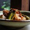 アレグロ コン ブリオ - 料理写真:鶏もも肉とたらの芽のパデッラ
