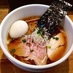 37183153 - 鶏清湯醤油ラーメン