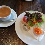 コパン 北杜店 - サラダと前菜と、コーヒー