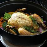 PURE+ - 丸ごと一匹ハーブチキンのオーブン焼き