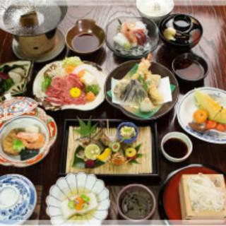 会席料理5,400円