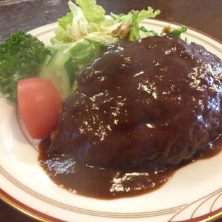 洋食と珈琲の店トロル - 料理写真:壱岐牛ハンバーグ 1000円より