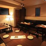 PURE+ - 完全予約の個室!会社の集まりや、パーティなどにご利用ください。15~22名様。