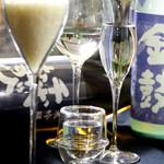 PURE+ - 日本酒カクテルもご用意。女性の方に非常に人気があります★