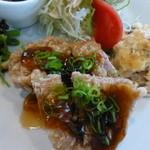 カントリーハウス - 揚鶏のねぎソース