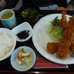 カントリーハウス - エビフライ定食@1,350