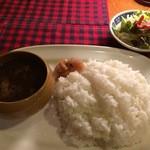 インドカレーロダン - 料理写真:牛スジインド 900円