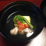 山茶花 - 山菜がここのポイント