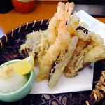 炭鮮 - 天ぷら盛合せ
