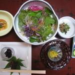 森蔵 - 料理写真:サラダなど