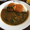 CoCo壱番屋 - 料理写真:クリームコロッケ+ほうれん草