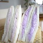 パルシェ - いちご生サンドとブルーベリー生サンド