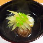 荒木 - 鯛と蕗のお椀