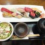 37195996 - にぎり寿司定食 ¥1200【税込】