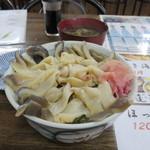 37196249 - びっくり丼(ホッキ丼酢飯)