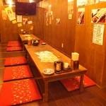 高山商店 - 最大24名 仲良しで30名宴会☆浦和の焼き鳥居酒屋でゆっくり飲み放題がおすすめ!掘りごたつ・座敷・個室もご用意できます。