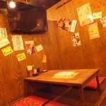 高山商店 - テレビあります☆浦和の焼き鳥居酒屋でゆっくり飲み放題がおすすめ!掘りごたつ・座敷・個室もご用意できます。