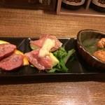 スナフキッチン - 惣菜3種の全景
