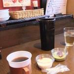 37199073 - 2015/4/6 ホットコーヒー、杏仁豆腐、抹茶ムース