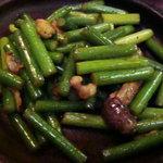 372838 - にんにくの茎とうなぎの肝のスタミナ炒め