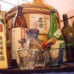 鮨芳 - 当店のお酒たち 真澄と南は新酒時期に入荷いたします。
