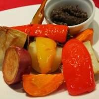 クワトロチンクエ - 人気商品です。野菜のロースター焼き。