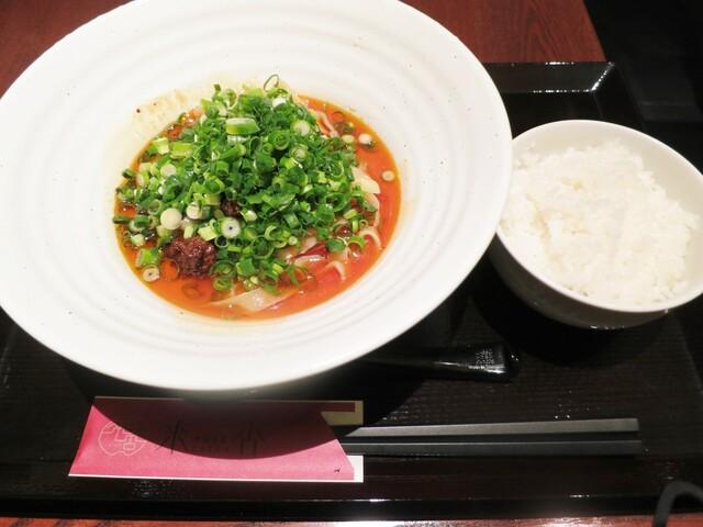 中国名菜 來杏 本店 - 汁なし担々麺とライス☆