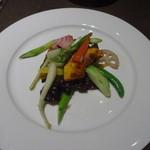 サイアミーズ フィン - 季節野菜のあっさり炒め:1,250円