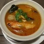 サイアミーズ フィン - 魚介類の酸辣湯~バンコクスタイル~:1,000円