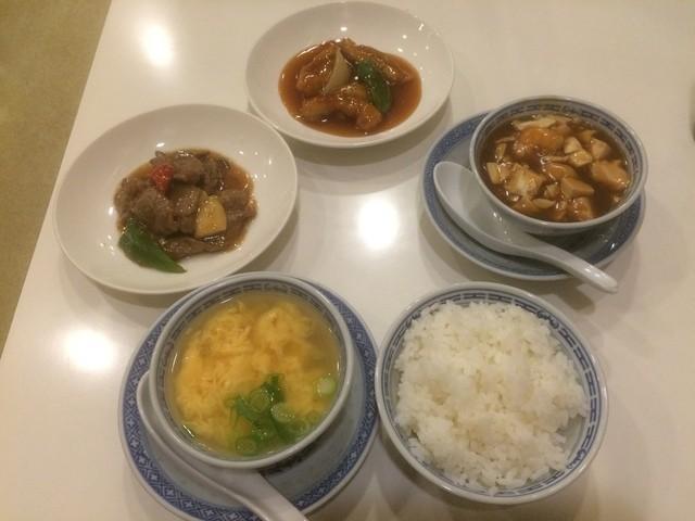 神戸元町別館牡丹園 - スペシャルランチ