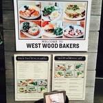 ウエストウッドベーカーズ - 朝食のメニュー