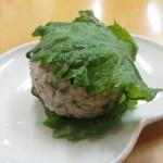 健康食工房 たかの - 大葉の香りがさわやかな発芽玄米のやさしいご飯のおにぎりです。