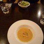3721081 - 前菜はサラダかスープの選択です