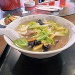 中国料理 上海謝謝 - たっぷり野菜麺