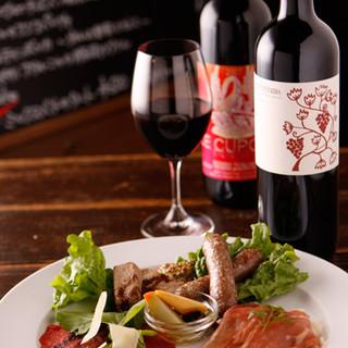 多彩なイタリアワインを取り揃えてます!