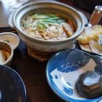 米貞 - 味噌煮込み定食1180円【2015.4月再訪】