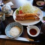 米貞 - エ尾フライ定食1280円