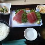 まんてん - 2014/12/04 12:40訪問 刺身定食¥700
