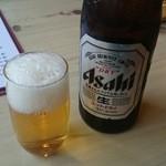 まんてん - 2014/12/04 12:40訪問 ビール\500