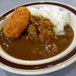 レストランすずしろ - コロッケカレー¥400円